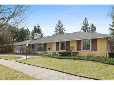 Skokie Single Family Home For Sale: 4219 Kirk Street