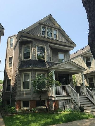 Condo/Townhouse For Sale: 3924 North Oakley Avenue #1