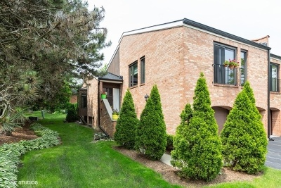 Oak Brook Condo/Townhouse For Sale: 19w284 Paul Revere Lane