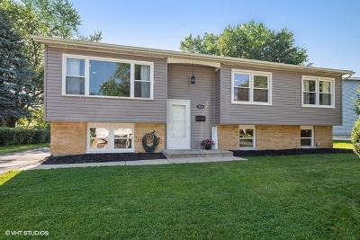 Woodridge Single Family Home Contingent: 7829 Dalewood Parkway