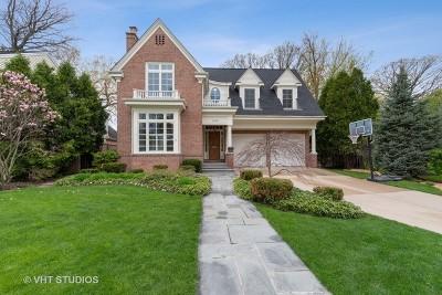 Wilmette Single Family Home For Sale: 1049 Pontiac Road