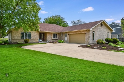 Frankfort Single Family Home For Sale: 7746 Steeple Chase Drive