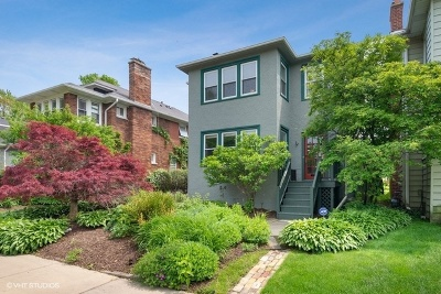 Evanston Single Family Home For Sale: 1506 Dempster Street