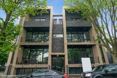 Wicker Park, Bucktown Condo/Townhouse For Sale: 2204 North Oakley Avenue #3N