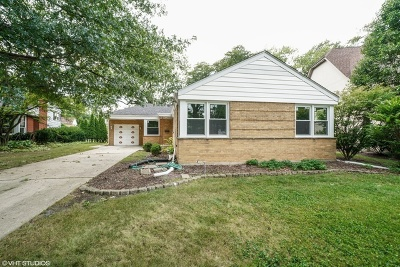 Western Springs Single Family Home For Sale: 5404 Franklin Avenue