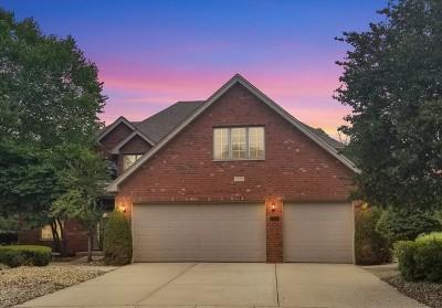 Homer Glen Single Family Home Price Change: 13028 West Creekside Drive