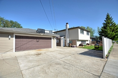 Oak Lawn Single Family Home For Sale: 5858 West 88th Place