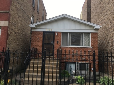 Chicago Residential Lots & Land For Sale: 2162 North Oakley Avenue