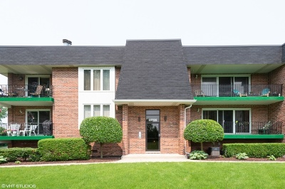 Orland Park Condo/Townhouse For Sale: 15725 Old Orchard Court #2N