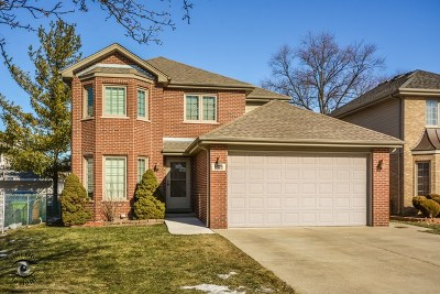 Oak Lawn Single Family Home For Sale: 5828 West 90th Street