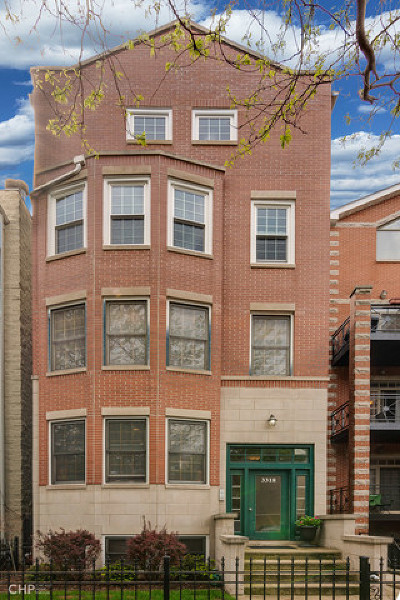 Roscoe Village Condo/Townhouse For Sale: 3318 North Damen Avenue #1