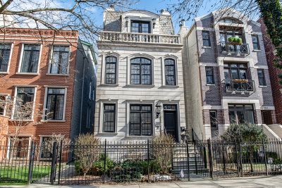 Single Family Home For Sale: 2037 North Bissell Street