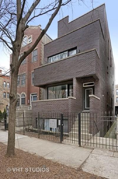 Condo/Townhouse For Sale: 1039 North Marshfield Avenue #2