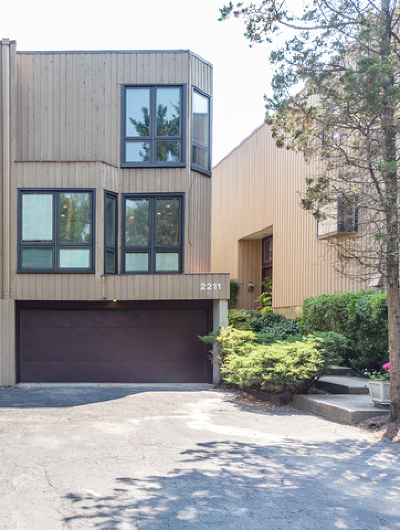Evanston Condo/Townhouse For Sale: 2211 Dodge Avenue