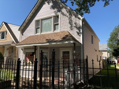 Chicago, Aurora, Elgin, Hammond, Joliet, Kenosha, Michigan City, Naperville Single Family Home Re-Activated: 5226 South Homan Avenue