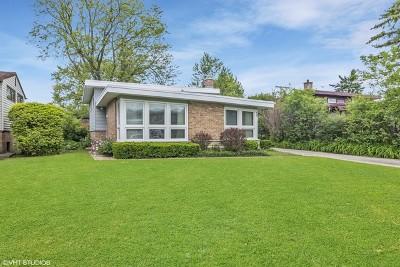 Wilmette Single Family Home For Sale: 827 Lavergne Avenue