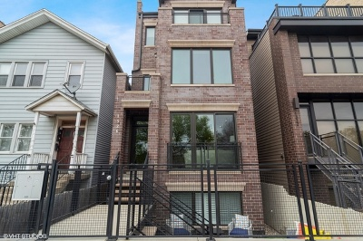 Condo/Townhouse For Sale: 1326 West Chestnut Street #1