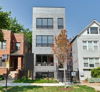 Wicker Park, Bucktown Condo/Townhouse For Sale: 2302 North Hoyne Avenue #2