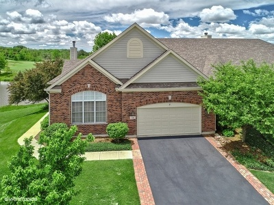 Lake In The Hills Condo/Townhouse For Sale: 14 Sugar Maple Court