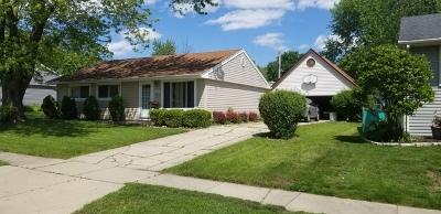 Streamwood Single Family Home For Sale: 513 South Park Boulevard