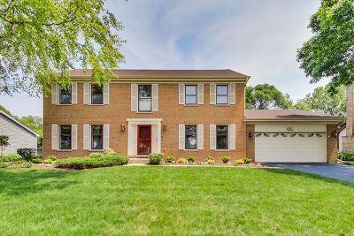 Hoffman Estates Single Family Home For Sale: 5001 Thornbark Drive