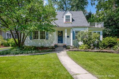Glen Ellyn Single Family Home For Sale: 380 Oak Street