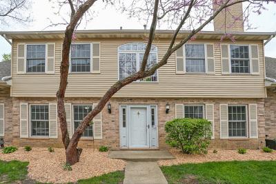 Streamwood Condo/Townhouse For Sale: 1517 Laurel Oaks Drive
