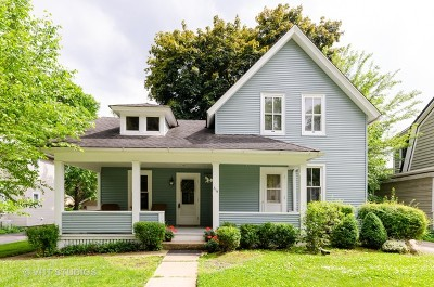 West Dundee Single Family Home Price Change: 315 Liberty Street