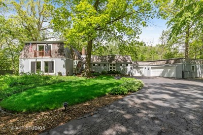 Libertyville Single Family Home For Sale: 980 North Oak Spring Lane