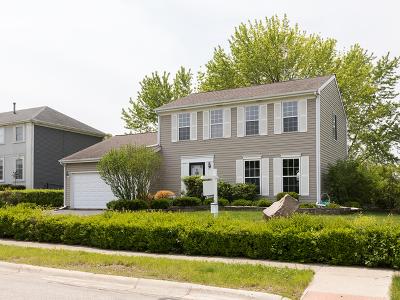 Carol Stream Single Family Home For Sale: 886 Waco Drive