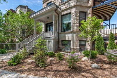 Andersonville Condo/Townhouse For Sale: 1254 West Winnemac Avenue #2S