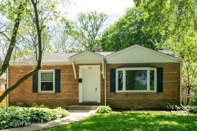 Wheaton Single Family Home For Sale: 1216 North Path East