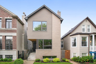 Single Family Home For Sale: 4048 North Troy Street