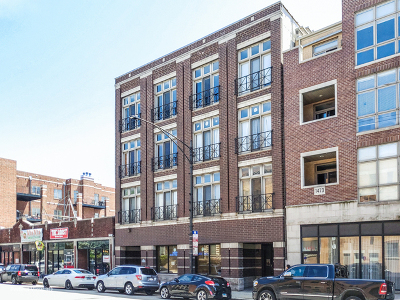 Condo/Townhouse For Sale: 1471 West Irving Park Road #2E