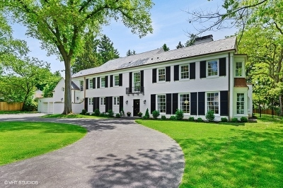 Winnetka Single Family Home For Sale: 90 Indian Hill Road