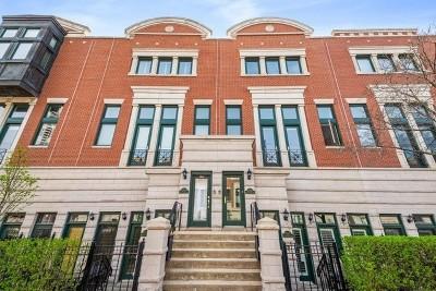Condo/Townhouse For Sale: 2020 North Lincoln Avenue #H