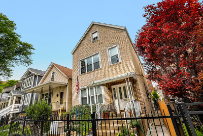 Chicago Multi Family Home For Sale: 2640 West Homer Street