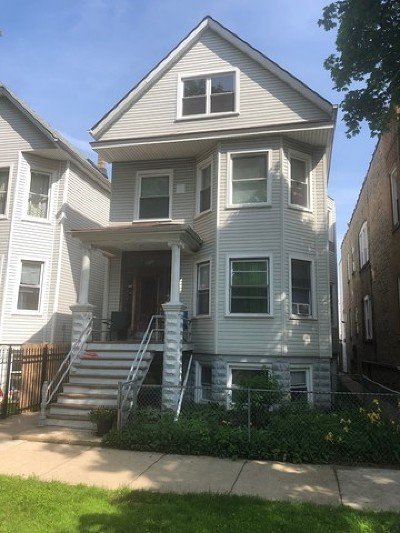 Chicago Multi Family Home For Sale: 3031 North Hamlin Avenue