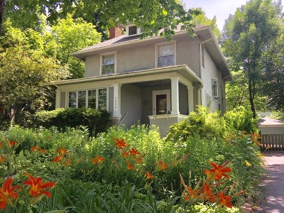 Evanston Single Family Home For Sale: 1426 Dempster Street