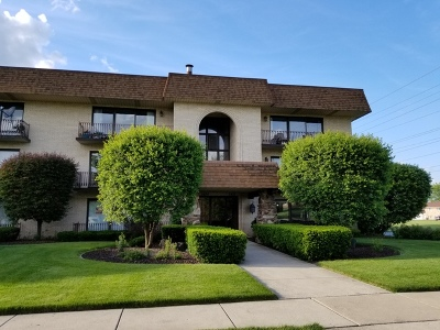 Orland Park Condo/Townhouse For Sale: 7424 West 153rd Street #3E