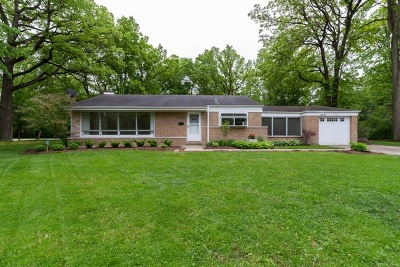 Highland Park Single Family Home For Sale: 1682 Berkeley Road
