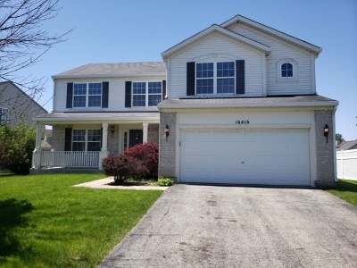 Crest Hill Single Family Home Contingent: 16416 Coventry Lane