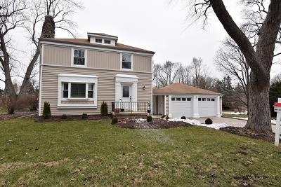 Glen Ellyn Single Family Home For Sale: 21w454 Fairway Avenue