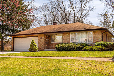 Palos Hills Single Family Home For Sale: 7919 West 112th Place