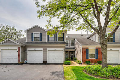 Streamwood Condo/Townhouse For Sale: 8 Truman Court #B