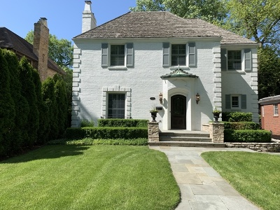 Winnetka Single Family Home For Sale: 1449 Scott Avenue