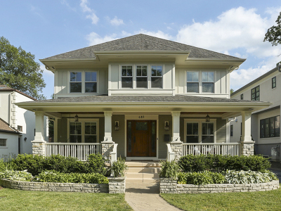 Glen Ellyn Single Family Home New: 685 Duane Street