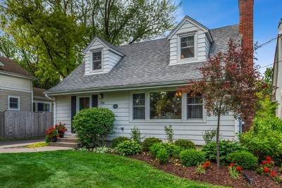Glen Ellyn Single Family Home New: 356 Hill Avenue