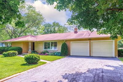 Wheaton Single Family Home For Sale: 0n558 Herrick Drive
