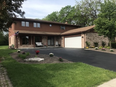 Orland Park Single Family Home Price Change: 8551 Wheeler Drive